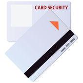 Card security — Stock Vector