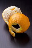 Peeled orange — Stock Photo