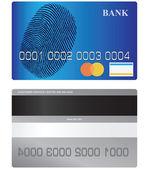 Bank card — Stock Vector