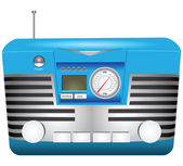 Retro radio — Stock Vector