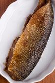 Smoked herring — Stock Photo