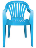 Plastic chair — Stock Vector