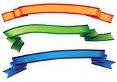 Decorating ribbon — Stock Vector