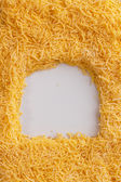 Grated cheese - background — Stock Photo