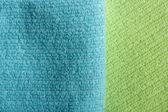 Zwei farbe-frottier — Stockfoto
