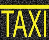 Parcheggio taxi — Vettoriale Stock