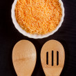 Grated cheese — Stock Photo