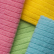 Background of terry towels — Stock Photo