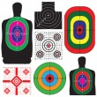 Set of targets — Stock Vector #32889629