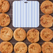 Background from cookies — Stock Photo #33540561