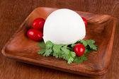 Mozzarella cheese — Stock Photo