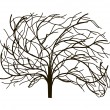 Tree without leaves — Image vectorielle