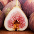 Half of figs — Stock Photo