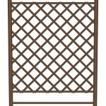 Style garden fence — Stock Vector