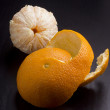 Stock Photo: Orange peel