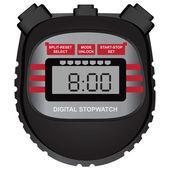 Digital stopwatch — Stock Vector