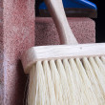 Stonemason's brush — Stock Photo #3804082