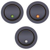 Interruptor de encendido y apagado — Vector de stock
