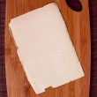 Wooden cutting board — Stock Photo