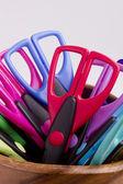 Scissors for decorative works — Stock Photo