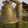 Stock Photo: Vintage bronze bell
