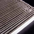 Air filter car — Stock Photo