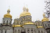 Orthodox church domes — Stock Photo