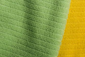 Two color terry towels — Stock Photo