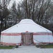 Mongolian yurt — Stock Photo