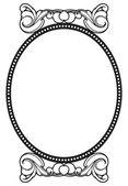 Vintage frame — Vector de stock