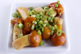 Marinated white mushrooms — ストック写真