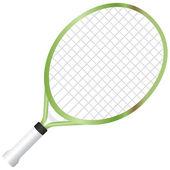 Junior Tennis Racquet — Stock Vector