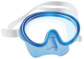 Swim scuba mask — Stock Vector