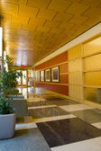 Büro-korridor — Stockfoto