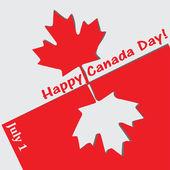 Szczęśliwy dzień kanady — Wektor stockowy
