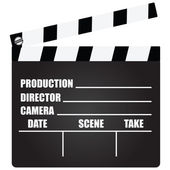 Clapperboard — Vecteur