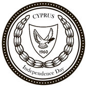 Independence Day Cyprus — Stock Vector