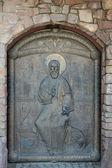 Doorway Orthodox icon — 图库照片