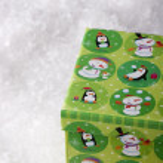 Green gift box — Stock Photo #6326211