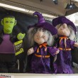 Photo: Halloween, stores with holiday trappings.