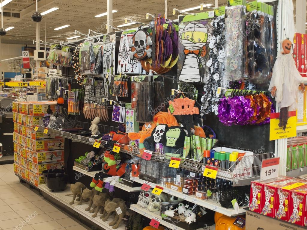 Halloween, the stores with holiday trappings. — Stock Photo #13870082