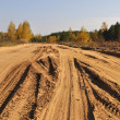 Stock Photo: Sandy road