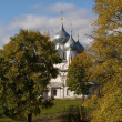 Holy Cross Cathedral in Tutaev, Russia — Stock Photo