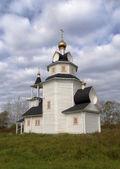 Kishleevo 村で、ロシア正教教会 — ストック写真