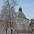 Drying tower in Holy Trinity Sergius Lavra - Stock Photo