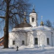 Orthodox church in winter time — Stock Photo