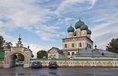 Resurrection Cathedral in Tutaev, Russia — Stock Photo
