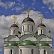 Dome of the medieval Orthodox Cathedral — Stock Photo