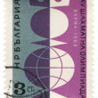 Stock Photo: Chess Olympiad on post stamp