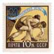 Wrestling, Olympic games in Rome, 1960 — Stock Photo